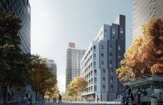 nArchitects micro units_MMNY_Render-Looking-West
